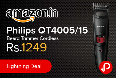 Philips QT4005/15 Beard Trimmer Cordless