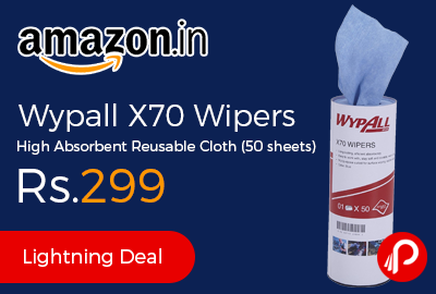 Wypall X70 Wipers High Absorbent Reusable Cloth
