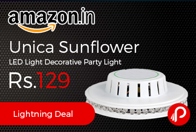 Unica Sunflower LED Light Decorative Party Light