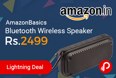 AmazonBasics Bluetooth Wireless Speaker