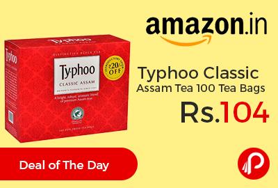 Typhoo Classic Assam Tea 100 Tea Bags