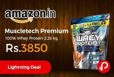 Muscletech Premium 100% Whey Protein 2.26 kg