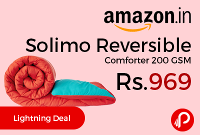 Solimo Reversible Comforter 200 GSM