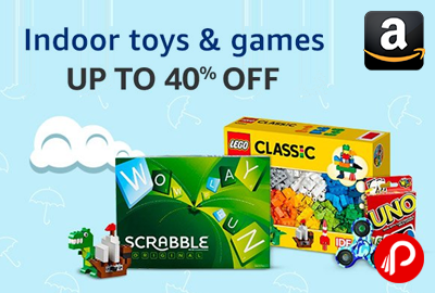 Up to 40% off on Indoor toys & games