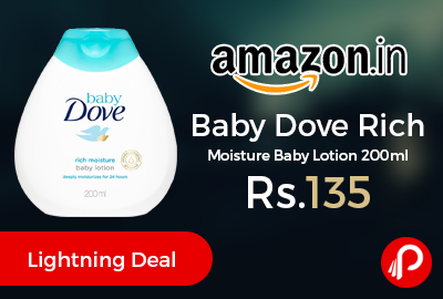 Baby Dove Rich Moisture Baby Lotion 200ml