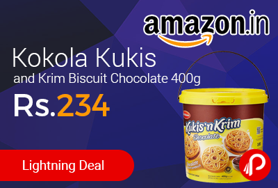 Kokola Kukis and Krim Biscuit Chocolate 400g