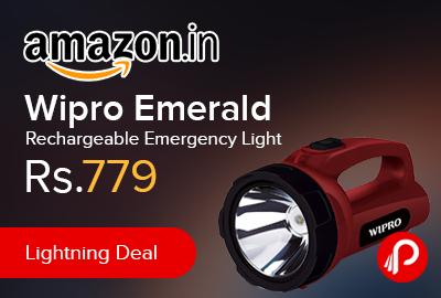 Wipro Emerald Rechargeable Emergency Light
