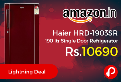 Haier HRD-1903SR 190 ltr Single Door Refrigerator