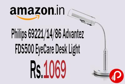 Philips 69221/14/86 Advantez FDS500 EyeCare Desk Light