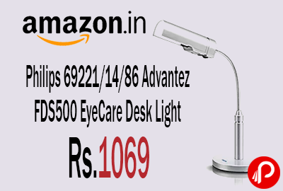 Philips 69221/14/86 Advantez FDS500 EyeCare Desk Light