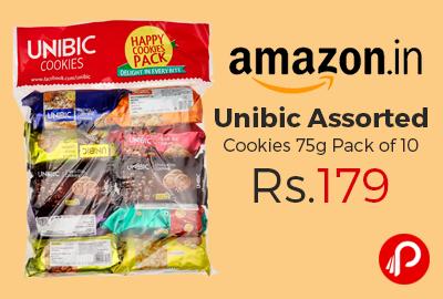 Unibic Assorted Cookies 75g