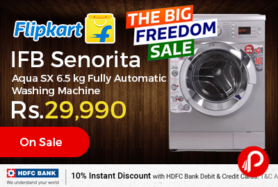 IFB Senorita Aqua SX 6.5 kg Fully Automatic Washing Machine