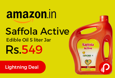 Saffola Active Edible Oil 5 liter Jar