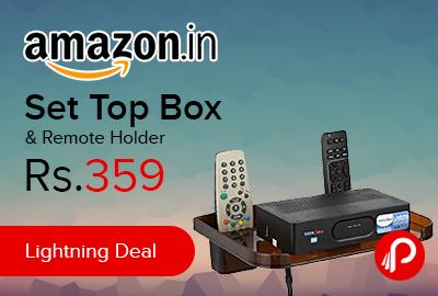 Set Top Box & Remote Holder