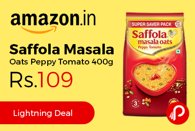Saffola Masala Oats Peppy Tomato 400g