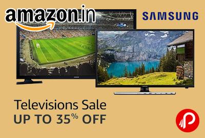 Up to 35% off Samsung TVs