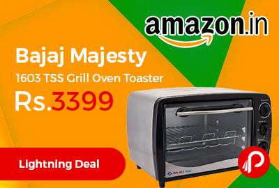 Bajaj Majesty 1603 TSS Grill Oven Toaster