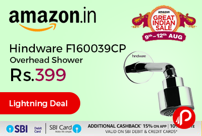 Hindware F160039CP Overhead Shower