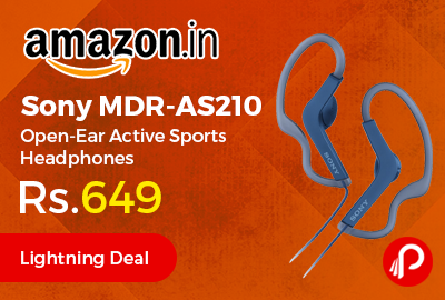 Sony MDR-AS210 Open-Ear Active Sports Headphones