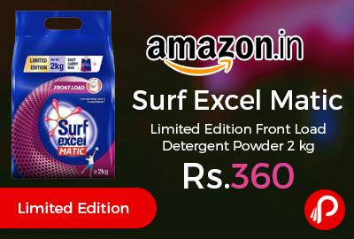 Surf Excel Matic Limited Edition Front Load Detergent Powder 2 kg