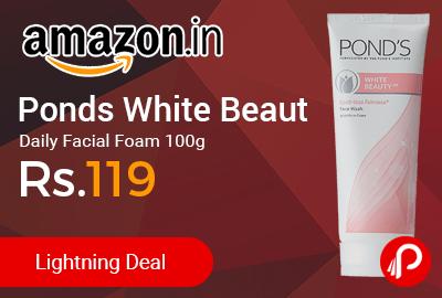 Ponds White Beauty Daily Facial Foam 100g