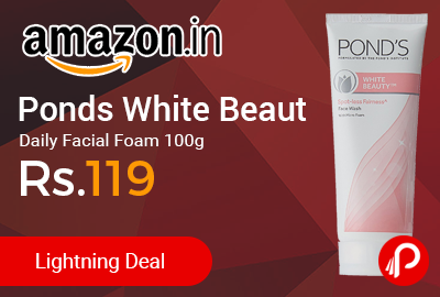Ponds White Beauty Daily Facial Foam 100g