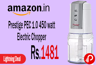 Prestige PEC 1.0 450 watt Electric Chopper