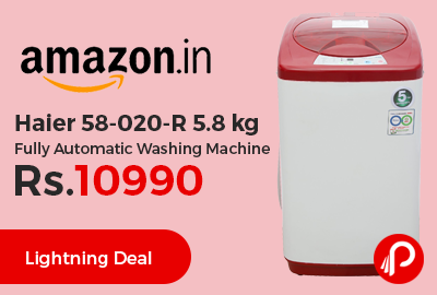 Haier 58-020-R 5.8 Kg Fully Automatic Washing Machine