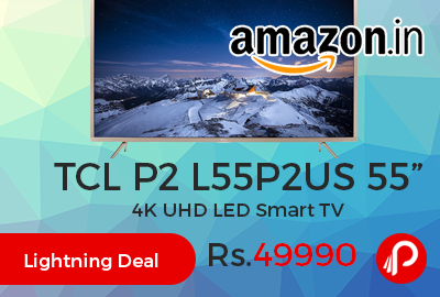 "TCL P2 L55P2US 55"" 4K UHD LED Smart TV"