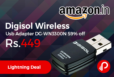 Digisol Wireless Usb Adapter DG-WN3300N