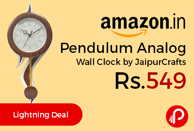 Pendulum Analog Wall Clock