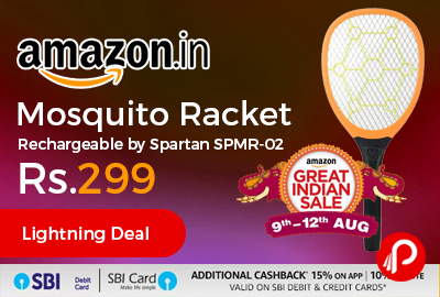 Mosquito Racket Rechargeable