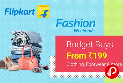 Flipkart Fashion Weekends