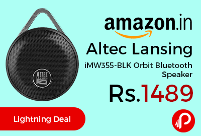 Altec Lansing iMW355-BLK Orbit Bluetooth Speaker