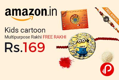 Kids cartoon Multipurpose Rakhi
