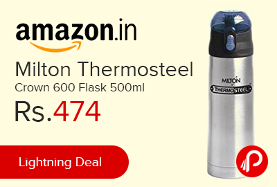 Milton Thermosteel Crown 600 Flask 500ml