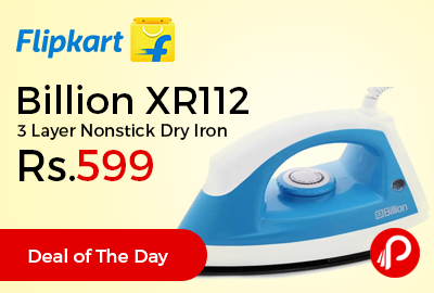 Billion XR112 3 Layer Nonstick Dry Iron