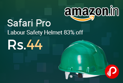 Safari Pro Labour Safety Helmet