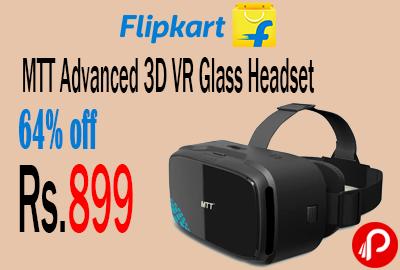 MTT Advanced 3D VR Glass Headset