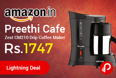 Preethi Cafe Zest CM210 Drip Coffee Maker