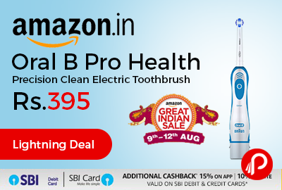 Oral B Pro Health Precision Clean Electric Toothbrush