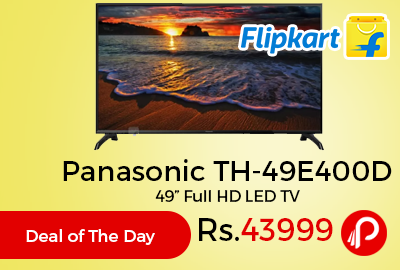 "Panasonic TH-49E400D 49"" Full HD LED TV"