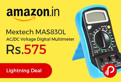 Mextech MAS830L AC/DC Voltage Digital Multimeter