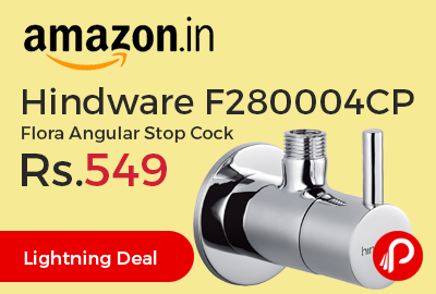 Hindware F280004CP Flora Angular Stop Cock