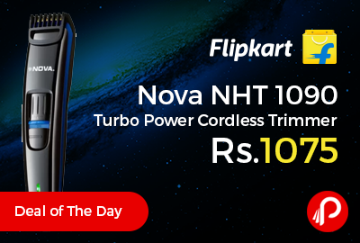 Nova NHT 1090 Turbo Power Cordless Trimmer