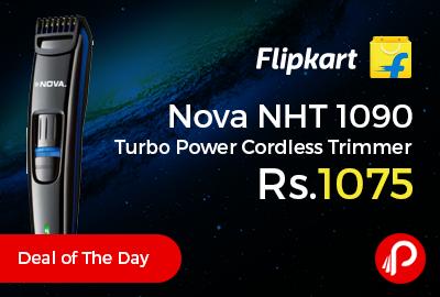 Nova NHT 1090 Turbo Power Cordless Trimmer