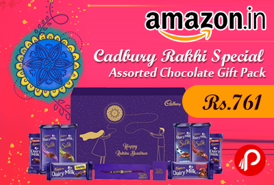 Cadbury Rakhi Special Assorted Chocolate Gift Pack