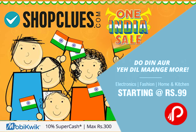 Shopclues One India Sale