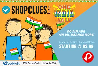 Shopclues One India Sale