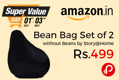 Bean Bag Set of 2 without Beans